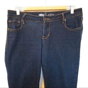Old Navy Women Size 12 Jeans Rockstar Mid Rise